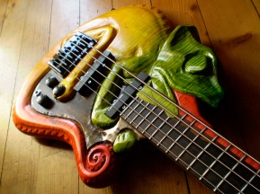 woodcarved Bass